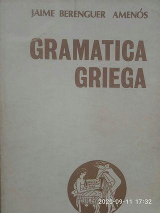 gramatica griega javier berenguer