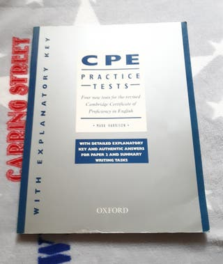 CPE English Practice Tests.