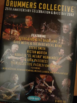 Dvds de bateria (Weckl, Chambers..)