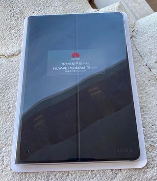 Huawei MediaPad T5 flip cover funda carcasa