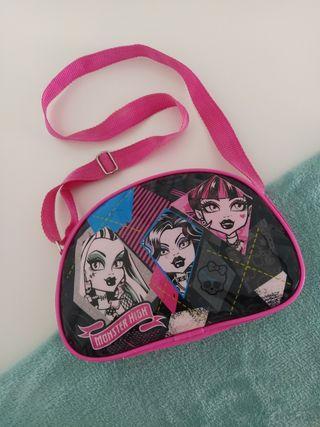 Bolso niña o porta merienda Monster High