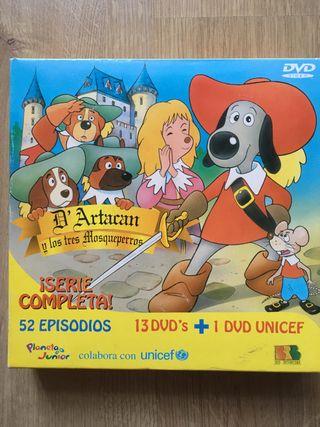 Dartacan y los 3 mosqueperros serie completa dvd