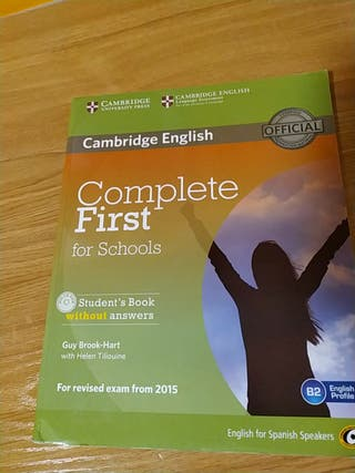 Complete First Cambridge B2 9788483239933
