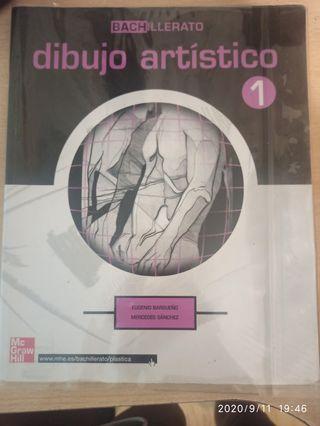 libro dibujo artístico 1bachillerato