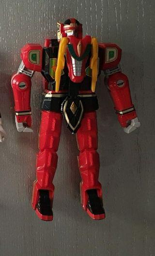 Muñeco Dragón Rojo Thunderzord, Power Rangers