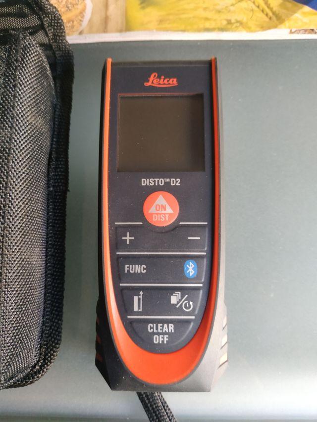 Medidor laser Leica