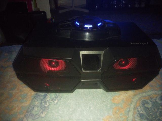 Bluetooth intempo speaker