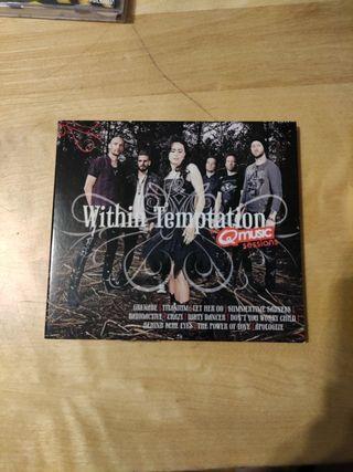 CD WITHIN TEMPTATION VERSIONES