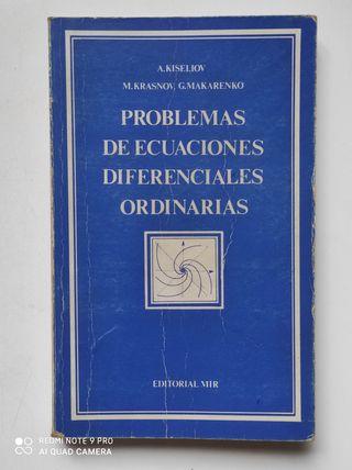 Libro Problemas de ecuaciones diferenciales