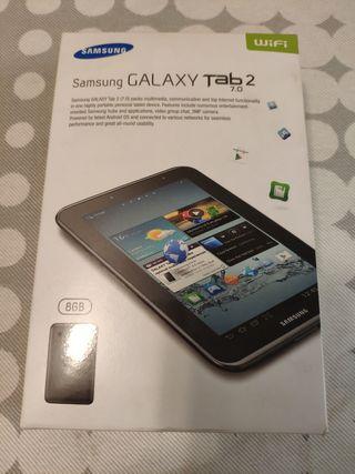 "caja vacia tablet Samsung 7"""
