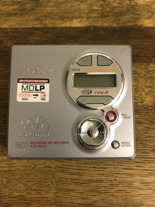 MiniDisc Sony MZ-R410
