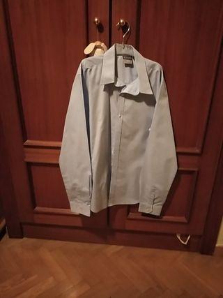 camisa azul uniforme NUEVO