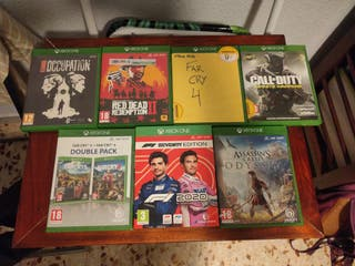 Juegos XBox One Red Dead Redemption, F1 2020, etc.