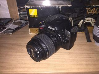 Nikon d40 con 2 objetivo