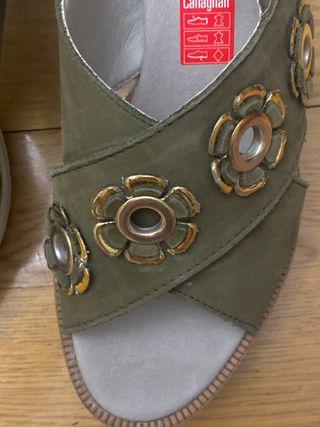 Sandalias de plataforma T38 Callaghan