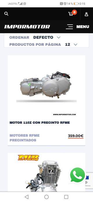 motor 110 campeonato de España de minivelocidad
