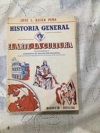 Historia General-El arte, La cultura, Ed. Bosch.