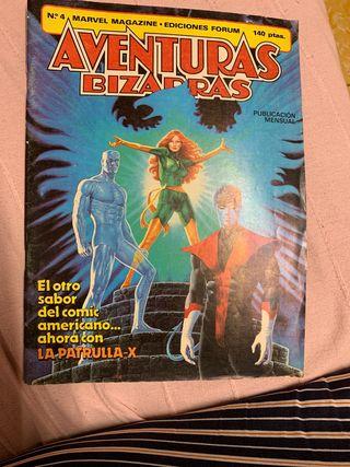 AVENTURAS BIZARRAS 4 Marvel Magazine
