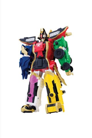 Power Rangers Super Megaforce. Megazord legendario