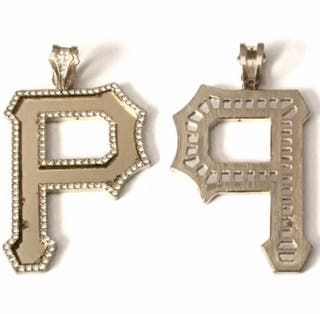 Wiz Khalifa Pittsburgh Gold Plated Pendant