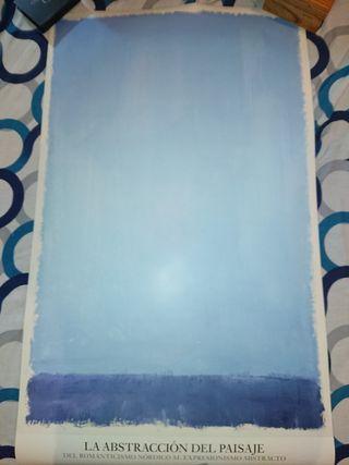Póster Abstracto Mark Rothko