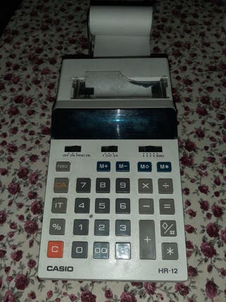 Calculadora casio hr-12