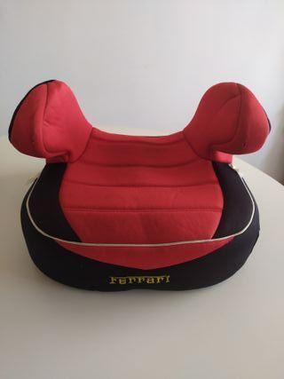 Elevador niño, niña. silla coche. Ferrari.