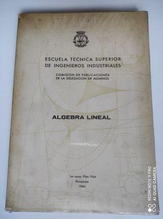 Libro Algebra Lineal de la Escuela Técnica