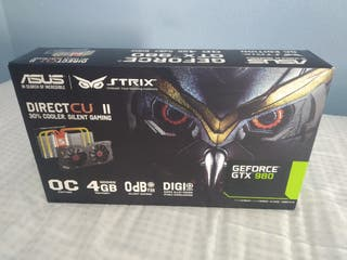 Tarjeta Gráfica Asus Strix GeForce GTX 980