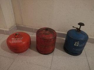bonbonas de gas camping