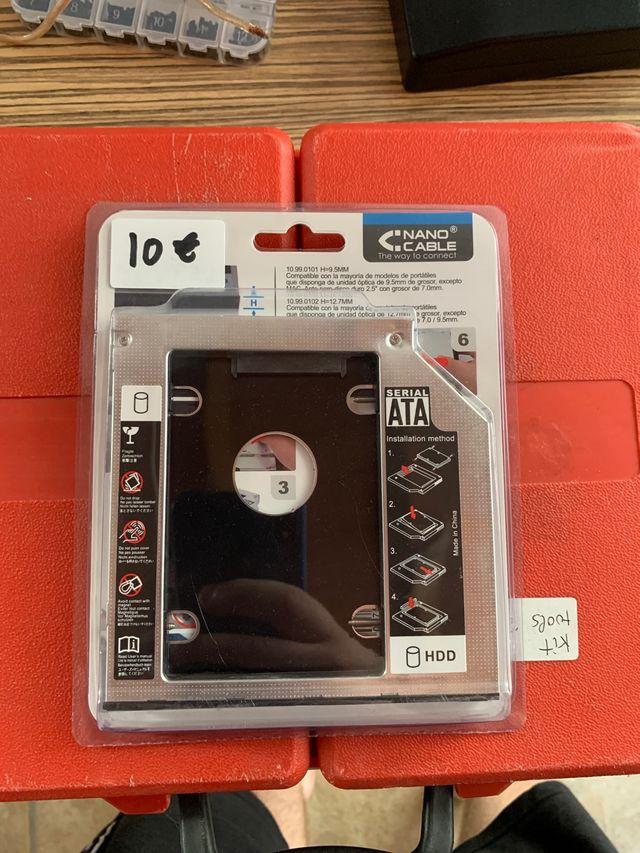 Adaptador disquetera a disco duro 3,5