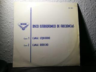 DISCO ESTEREOFÓNICO DE FRECUENCIAS LP VINILO