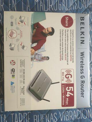 Router Belkin WiFi G
