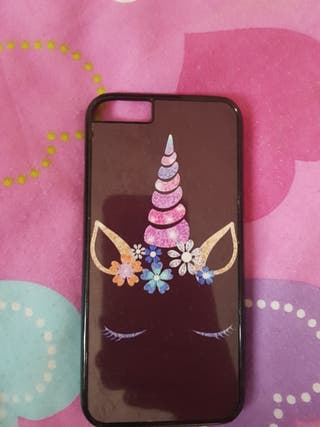 iphone 6 black unicorn phone case