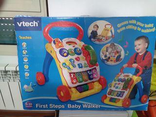 "Correpasillos ""First steps Baby Walter"" de Vtech"