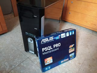 PC Intel Core 2 Quad Q9400 SSD 240GB 8GB RAM