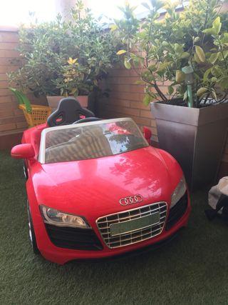 Coche batería eléctrico Audi R8 Spyder