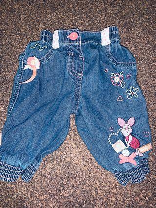 0-3 Disney baby jeans