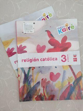 Religion católica tercero primaria SM