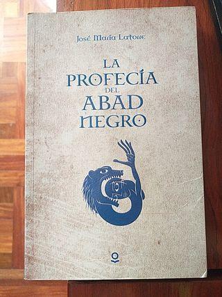 """LIBRO:""""LA PROFECÍA DEL ABAD NEGRO"""" DE J.M. LATORRE"""