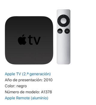 Apple TV 2 generación