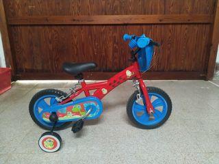 Bicicleta infantil 12 pulgadas COMO NUEVA