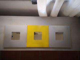 Tres cuadros de espejo