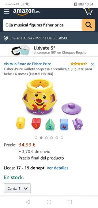 JUGUETES fisher price.