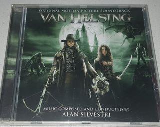 CD BSO VAN HELSING compuesta por Alan Silvestri. E