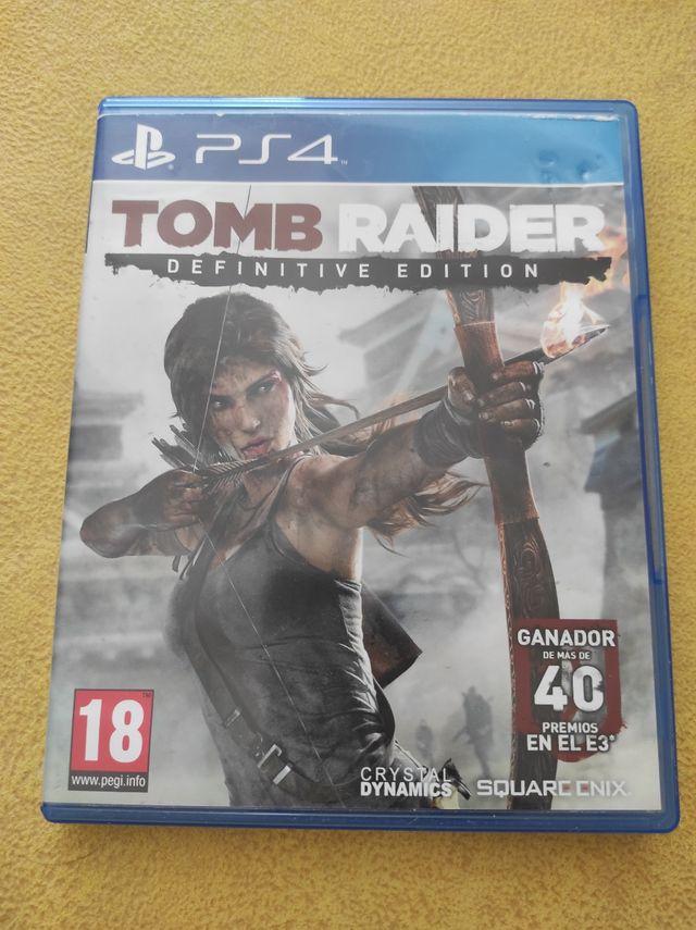 Tomb Raider Definitive Editon