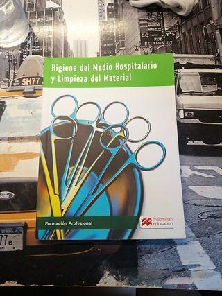 libro higiene del medio hospitalario y limpieza...
