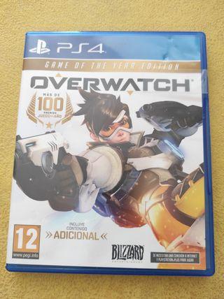 Overwatch ps4