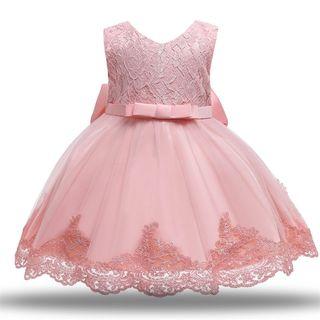 vestido niña bebé nuevo princesa 18/24 MESES