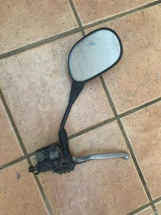 maneta con espejo honda cbr 125